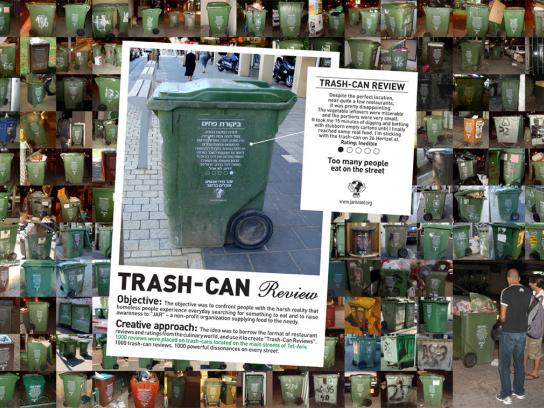 JAR Ambient Ad -  Trash can review