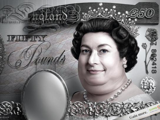 Super Rich Print Ad -  Elizabeth