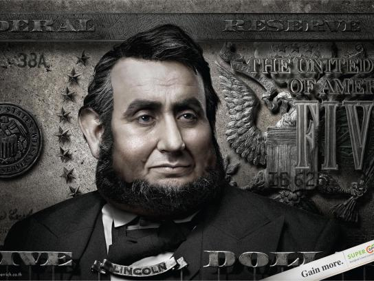 Super Rich Print Ad -  Lincoln