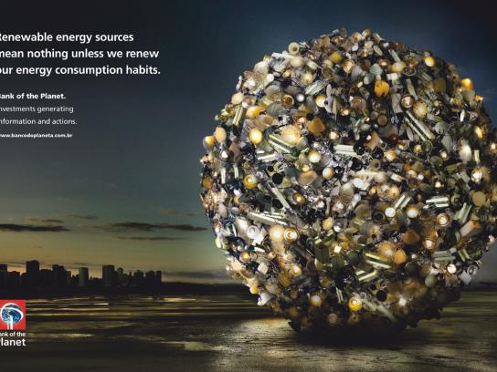 Bank of the Planet Print Ad -  Energy