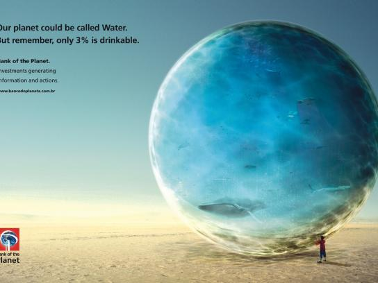 Bank of the Planet Print Ad -  Water