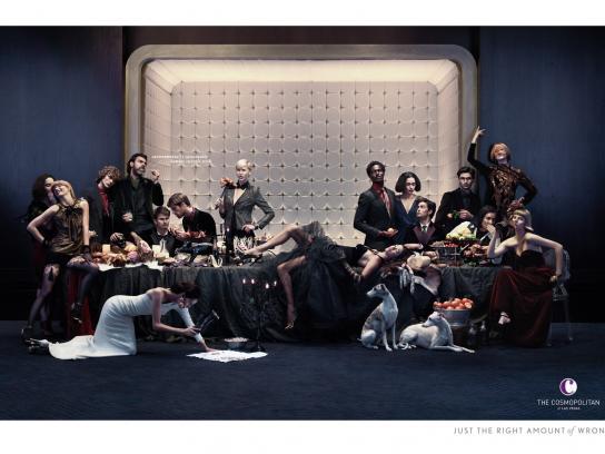The Cosmopolitan Print Ad -  Banquet