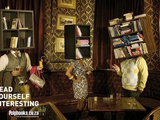 Pulp Books Print Ad -  Bar