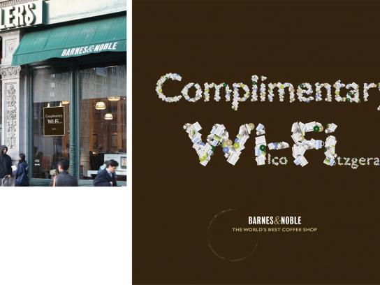 Barnes & Noble Outdoor Ad -  Wi-Fi