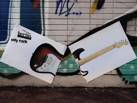 Berlin Discos Outdoor Ad -  Bass