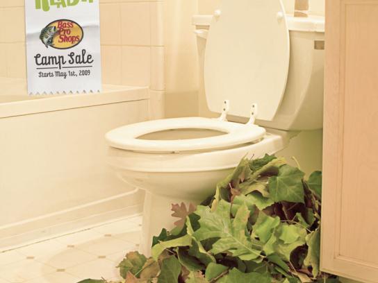 Bass Print Ad -  Toilet