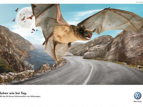Volkswagen Print Ad -  Bat
