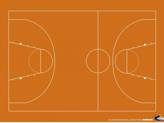 Basketball pitch