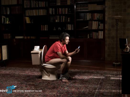 OCC Móvil Print Ad -  Bathroom