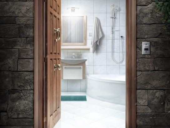 Henkel Print Ad -  Bathroom