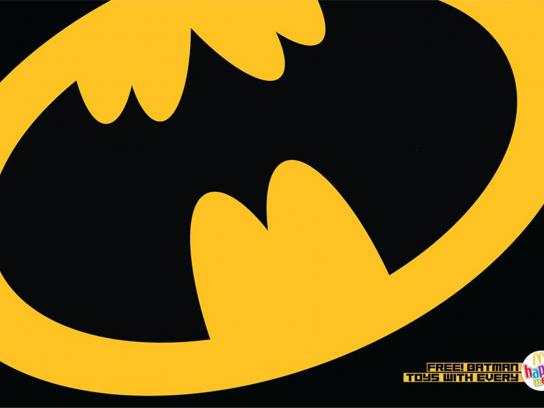 McDonald's Print Ad -  Batman