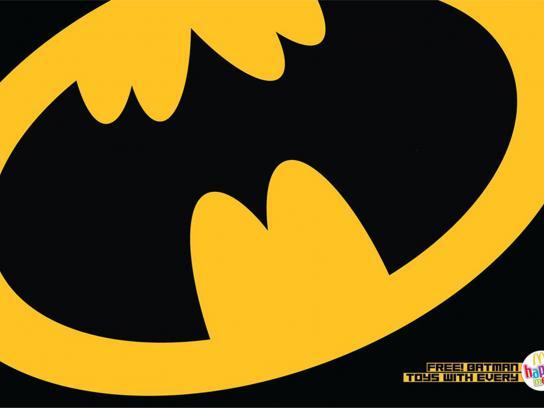 McDonald's Print Ad -  Batman