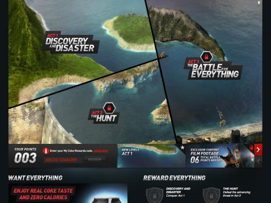 Coca-Cola Zero Digital Ad -  Battle for Everything