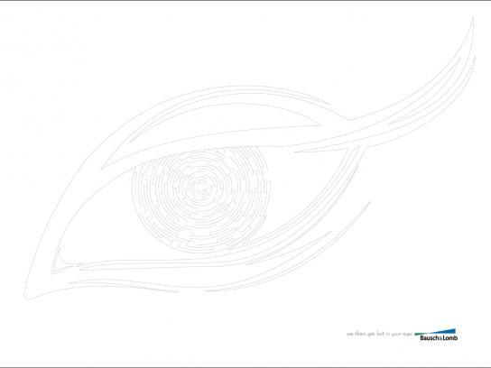 Bausch & Lomb Print Ad -  Eye, 2