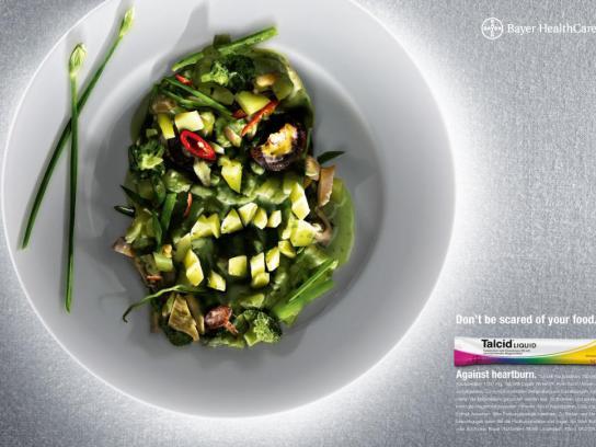 Talcid Print Ad -  Green curry