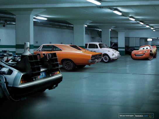 Bazuca Print Ad -  Cars