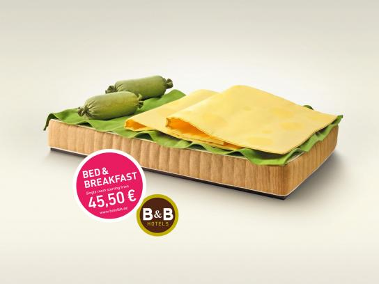 B&B Hotels Print Ad -  Cheese