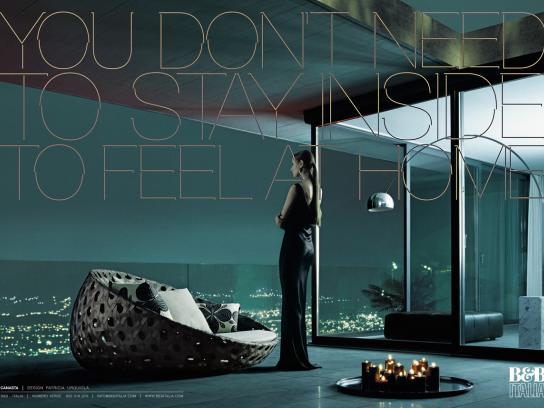B&B Italia Print Ad -  Canasta
