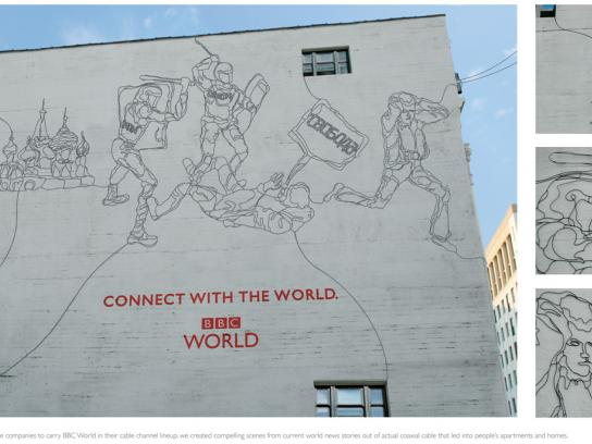 BBC Ambient Ad -  Connect with the world, 1