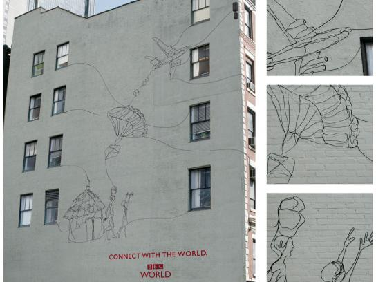 BBC Ambient Ad -  Connect with the world, 2