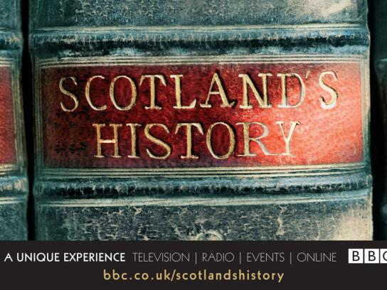 BBC Outdoor Ad -  Scotland's History, 1