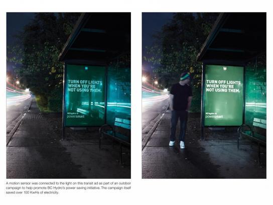 BC Hydro Outdoor Ad -  Motion Sensor