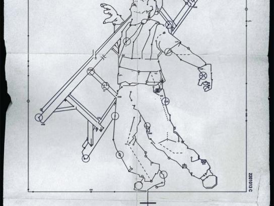 BC Hydro Print Ad -  Ladder