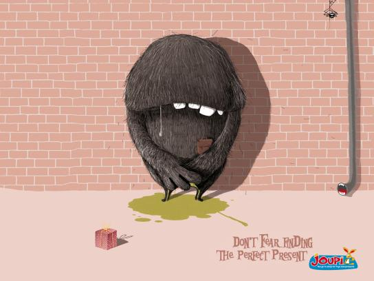 Joupi Print Ad -  Be-Pee