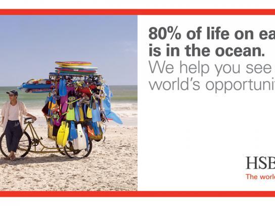 HSBC Print Ad -  Beach