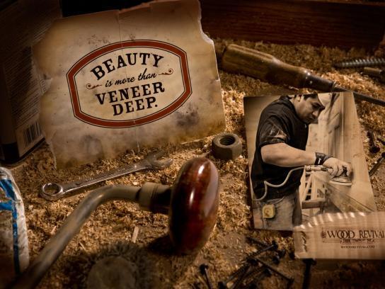 Wood Revival Print Ad -  Veneer Deep