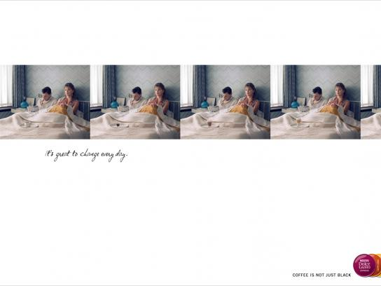 Nestle Print Ad -  Bed