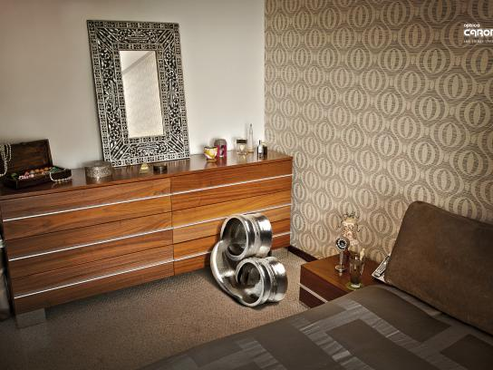 Optica Caroni Print Ad -  Bedroom