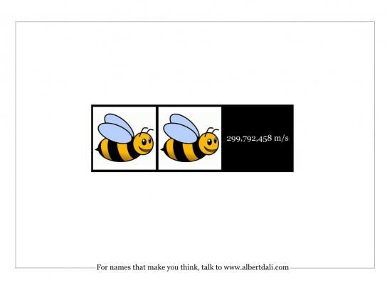Albert Dali Print Ad -  Bee-Bee-c