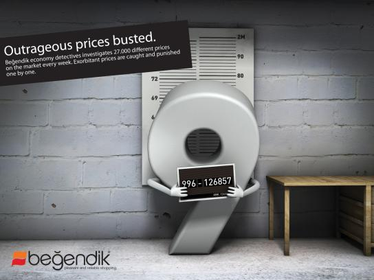 Begendik Supermarket Print Ad -  Busted, 1