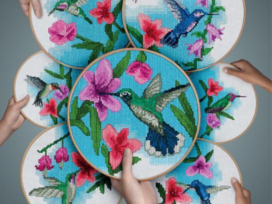 Döhler Print Ad -  Hummingbird