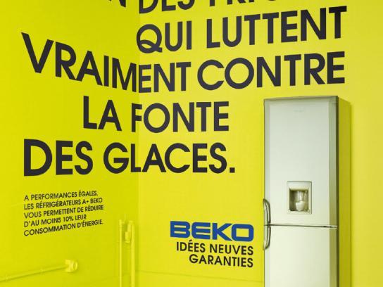 Beko Print Ad -  Fridge, 2