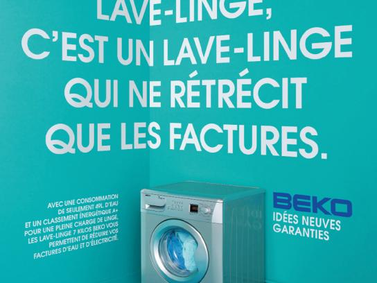 Beko Print Ad -  Washing machine, 2