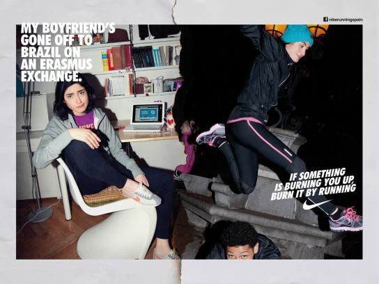 Nike Print Ad -  Run Madrid, Bel