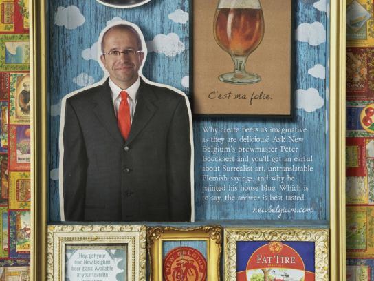 New Belgium Brewing Print Ad -  Peter