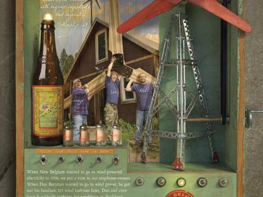 New Belgium Brewing Print Ad -  Wit