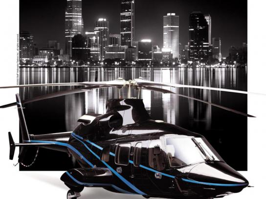 Bell Helicopter Print Ad -  Ego