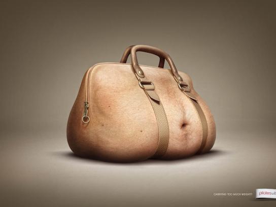 Pilates With Gerda Print Ad -  Belly Bag