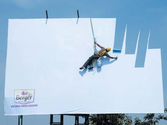 Berger Ambient Ad -  Sky