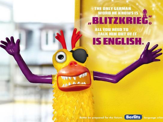Berlitz Print Ad -  English