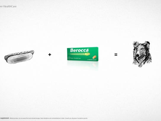Berocca Print Ad -  Hot dog