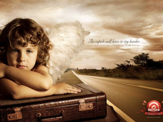 Besni Print Ad -  Cupid, 2
