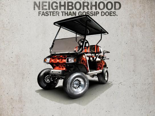Best Golf Cars Print Ad -  Gossip
