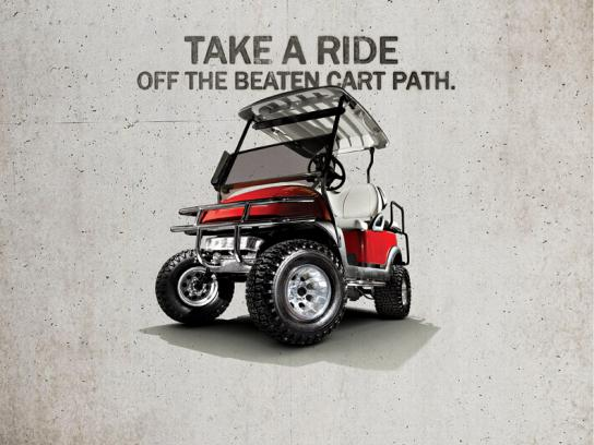 Best Golf Cars Print Ad -  Path
