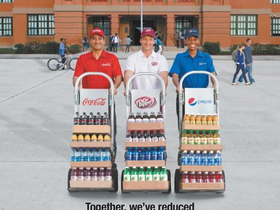 Coca-Cola Print Ad -  School