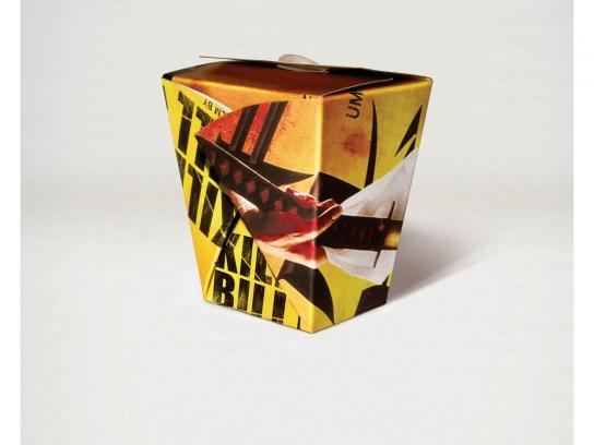 Bezeq Print Ad -  Kill Bill